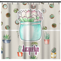 Cactus Shower Curtain (Personalized)