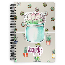 Cactus Spiral Notebook (Personalized)