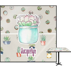 """Cactus Square Table Top - 24"""" (Personalized)"""