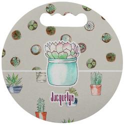 Cactus Stadium Cushion (Round) (Personalized)