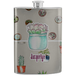 Cactus Stainless Steel Flask (Personalized)