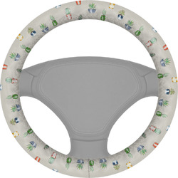 Cactus Steering Wheel Cover (Personalized)