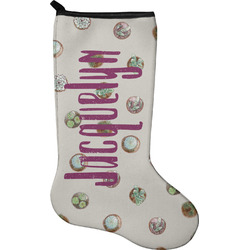 Cactus Christmas Stocking - Neoprene (Personalized)