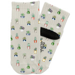 Cactus Toddler Ankle Socks (Personalized)
