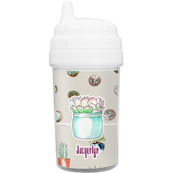 Cactus Toddler Sippy Cup (Personalized)