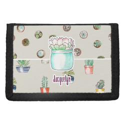 Cactus Trifold Wallet (Personalized)