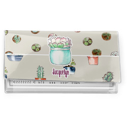Cactus Vinyl Checkbook Cover (Personalized)