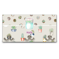 Cactus Wall Mounted Coat Rack (Personalized)