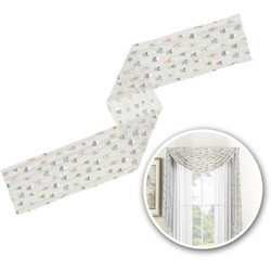 Cactus Window Sheer Scarf Valance (Personalized)