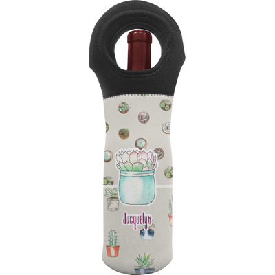 Cactus Wine Tote Bag (Personalized)