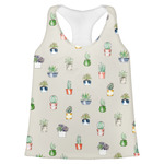 Cactus Womens Racerback Tank Top (Personalized)