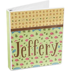 Summer Camping 3-Ring Binder (Personalized)