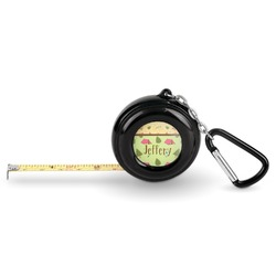 Summer Camping Pocket Tape Measure - 6 Ft w/ Carabiner Clip (Personalized)