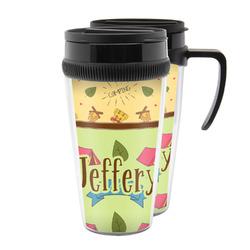 Summer Camping Acrylic Travel Mugs (Personalized)