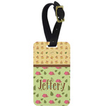 Summer Camping Aluminum Luggage Tag (Personalized)