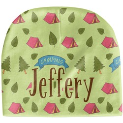 Summer Camping Baby Hat (Beanie) (Personalized)