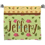 Summer Camping Bath Towel (Personalized)
