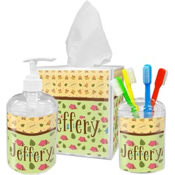 Summer Camping Bathroom Accessories Set (Personalized)