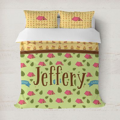 Summer Camping Duvet Cover (Personalized)