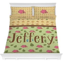 Summer Camping Comforter Set (Personalized)