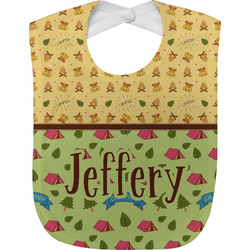Summer Camping Baby Bib (Personalized)