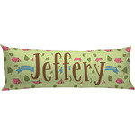 Summer Camping Body Pillow Case (Personalized)