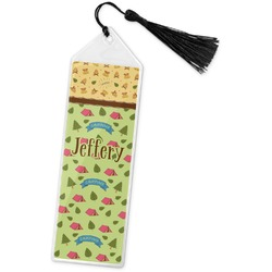 Summer Camping Book Mark w/Tassel (Personalized)