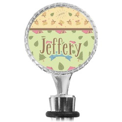 Summer Camping Wine Bottle Stopper (Personalized)