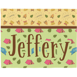 Summer Camping Placemat (Fabric) (Personalized)