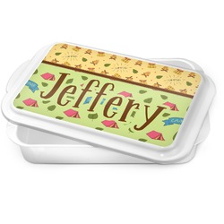 Summer Camping Cake Pan (Personalized)