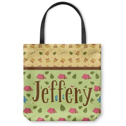 Summer Camping Canvas Tote Bag (Personalized)