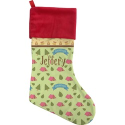 Summer Camping Christmas Stocking (Personalized)