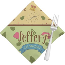 Summer Camping Napkins (Set of 4) (Personalized)