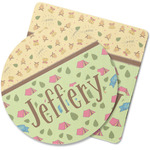 Summer Camping Rubber Backed Coaster (Personalized)
