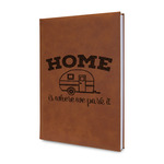 Summer Camping Leatherette Journal (Personalized)