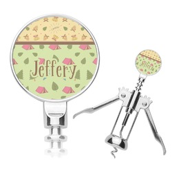 Summer Camping Corkscrew (Personalized)