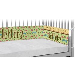 Summer Camping Crib Bumper Pads (Personalized)