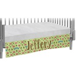 Summer Camping Crib Skirt (Personalized)