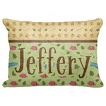 """Summer Camping Decorative Baby Pillowcase - 16""""x12"""" (Personalized)"""