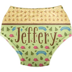 Summer Camping Diaper Cover (Personalized)