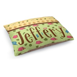 Summer Camping Dog Bed (Personalized)