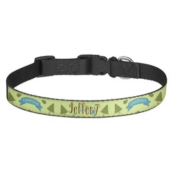 Summer Camping Dog Collar - Multiple Sizes (Personalized)