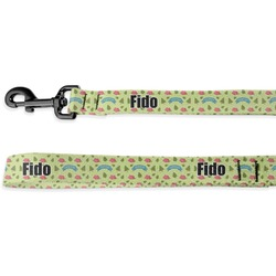 Summer Camping Deluxe Dog Leash (Personalized)