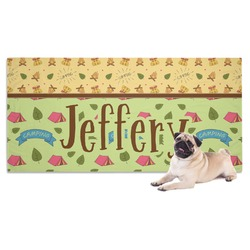 Summer Camping Pet Towel (Personalized)