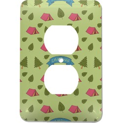 Summer Camping Electric Outlet Plate (Personalized)