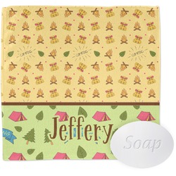 Summer Camping Wash Cloth (Personalized)