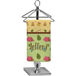 Summer Camping Finger Tip Towel - Full Print (Personalized)