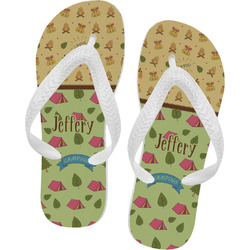 Summer Camping Flip Flops (Personalized)