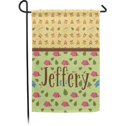 Summer Camping Garden Flag - Single or Double Sided (Personalized)