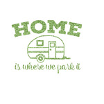 Summer Camping Glitter Iron On Transfer- Custom Sized (Personalized)